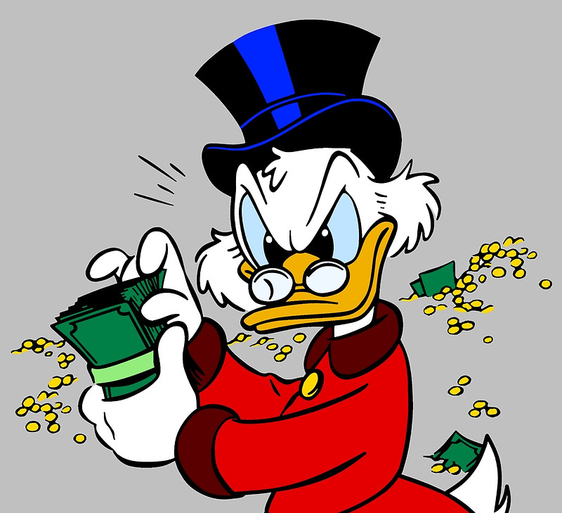 Sound-A-Like for Scrooge McDuck